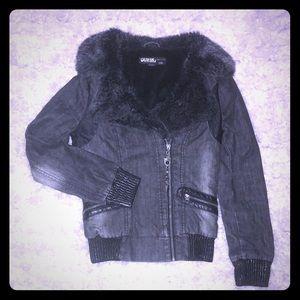 Guess Pilot Style Jean Jacket